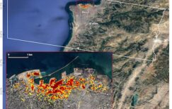 ARIA Damage Map: Beirut Explosion Aftermath