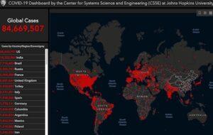 Covid19 map 3 Jan 2021